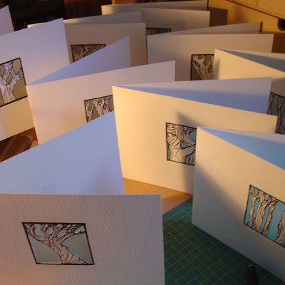 2007 05 2 Tree cut-out cards