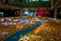 Ein Ausschnitt des Stadt-Modells