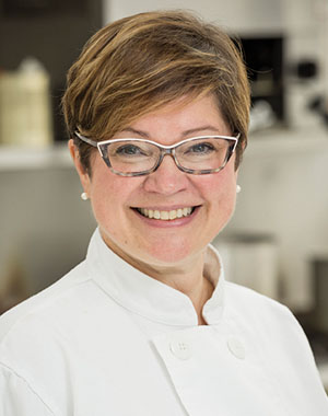 Annette Sprague is a teacher on chef course Scotland