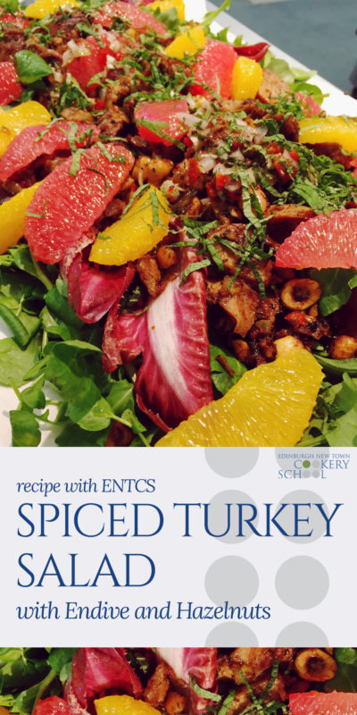 ENTCS Spiced Turkey and Endive Salad Pinnable Recipe