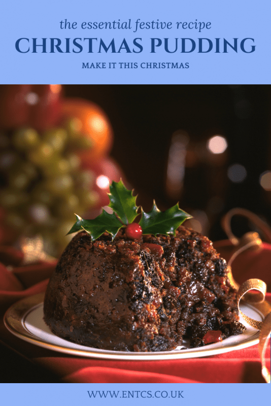 Christmas Pudding Recipe from ENTCS