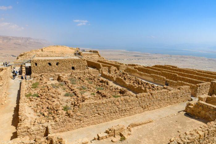 Storerooms at Masada
