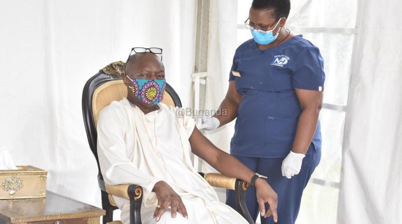 Kabaka, Nnabagereka receive Covid 19 vaccine jabs