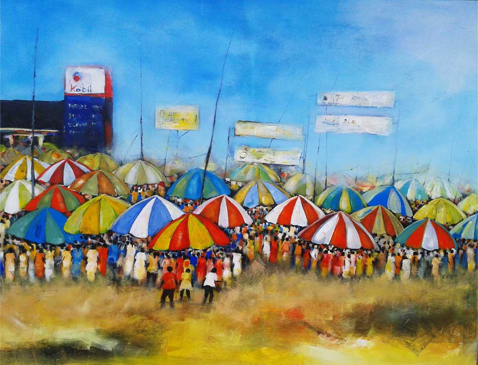 Paul Kasambeko, el papel del arte en la vida