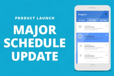 Major Schedule Update