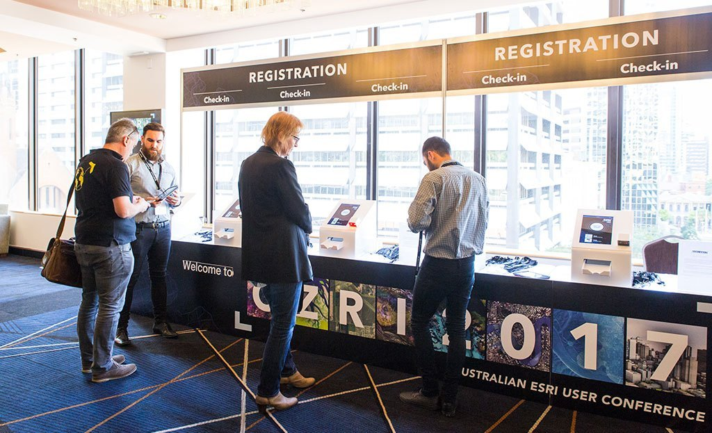 OZRI Brisbane Attendees Checking In