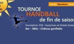 Tournoi Handball de fin de saison samedi 23 juin 2018
