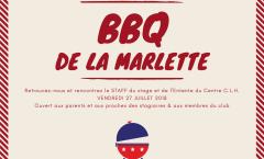 Barbecue de La Marlette - fin de stage et début de saison - RESERVATIONS