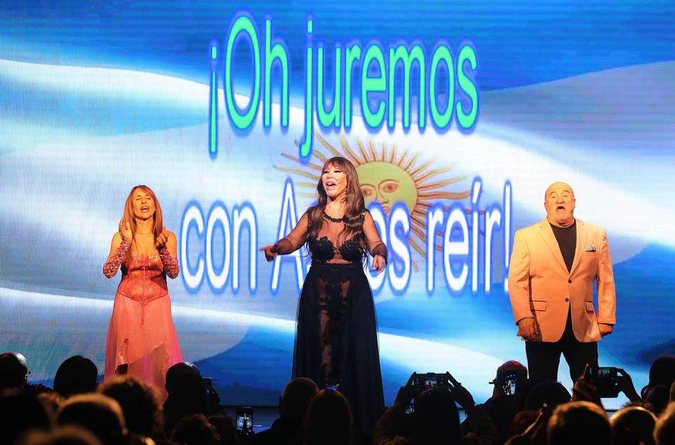 Astros de la risa … Moria, Gladys y José Luis … insuperables.
