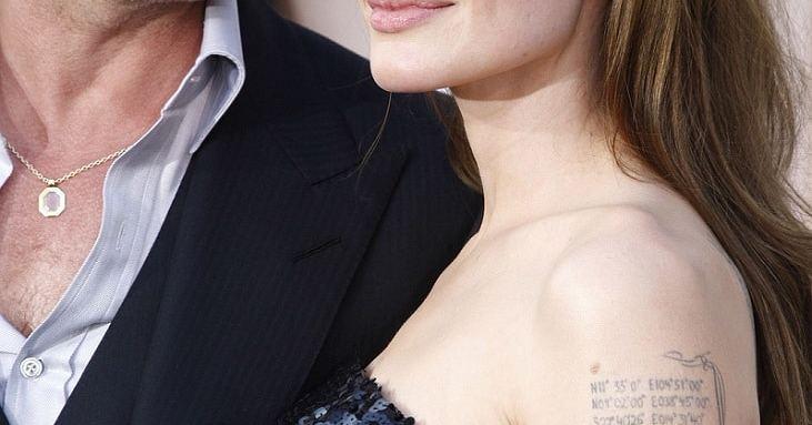 Pelea de Angelina Jolie y Brad Pitt