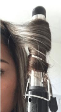 cómo usar correctamente la pinza del cabello