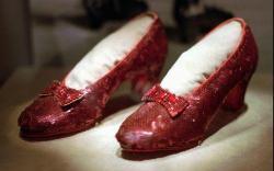 zapatillas rojas del mago de oz