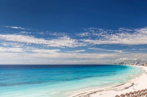 Hermosas playas en Cancun