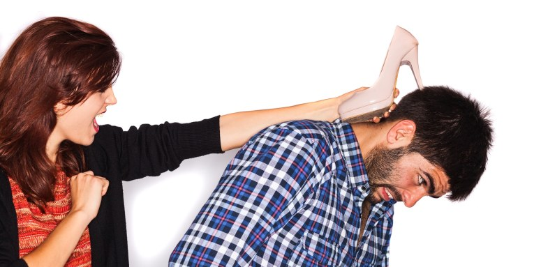 defensa personal con tacones