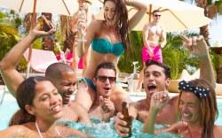 fiestas en la alberca en Las Vegas