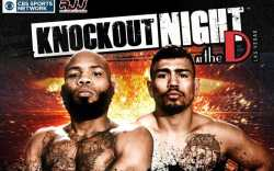 KnockOut Night Poster June 10th at the DLVEC
