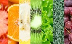 Los alimentos según su color