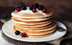 receta fácil de hotcakes veganos