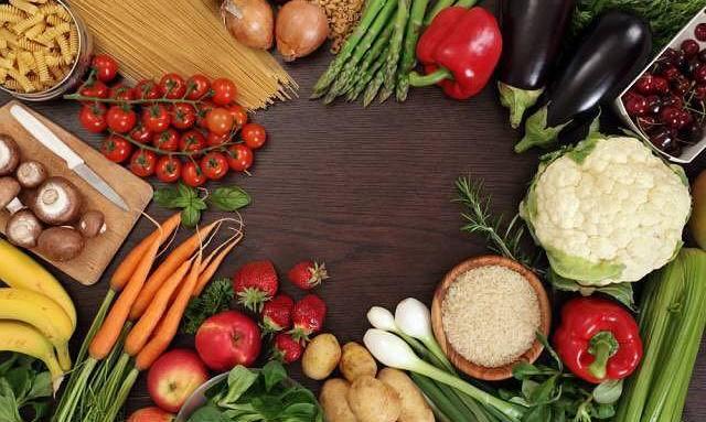 Los alimentos según su color - Las Frutas y Verduras