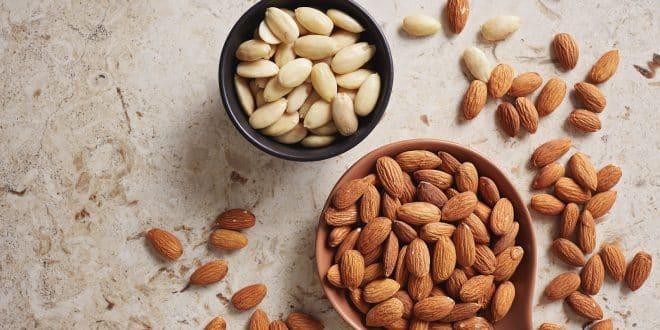 Alimentos que Ayudan a Mejorar Estado de Ánimo. Almendras