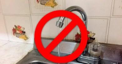 Mañana estos barrios se quedarán sin servicio de agua por mantenimiento en planta de tratamiento