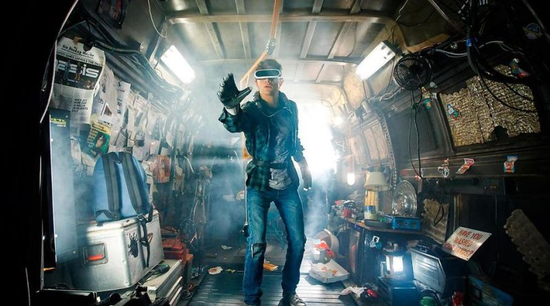 player one-gamer-videogame-Steven Spielberg-oasis-realidadvirtual-#parchecine-cine-movie