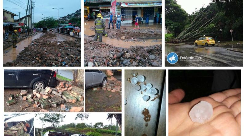 En dos horas de lluvia, Cali colapso y varias personas murieron ahogadas