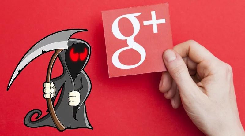 Google Plus cierra definitivamente ⚰