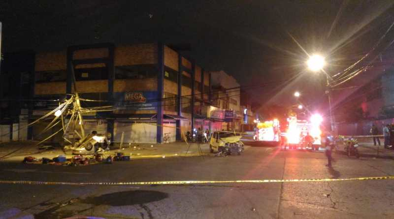 Fatal accidente de tránsito en la madrugada de este sábado en la Alameda