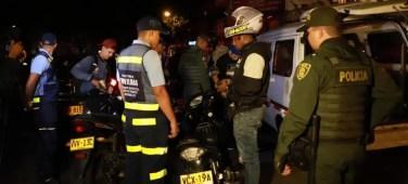 Esta madrugada fueron inmovilizadas 25 motos y 67 conductores sancionados 2