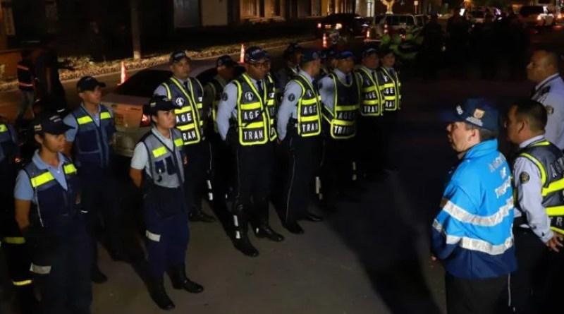 Esta madrugada fueron inmovilizadas 25 motos y 67 conductores sancionados
