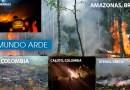 Cali, Jamundí, Yumbo, El Amazonas, Islas Canarias, Paraguay y el mundo se incendian