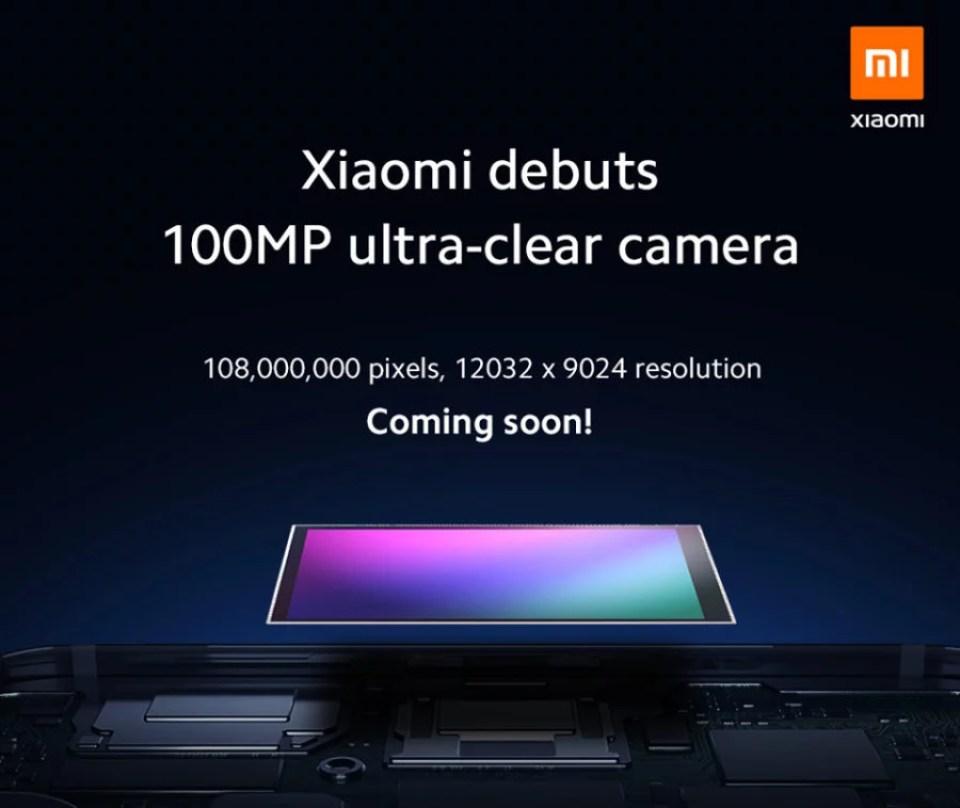 Samsung se une a su gran competidor Xiaomi y crean celular con 108 megapixeles