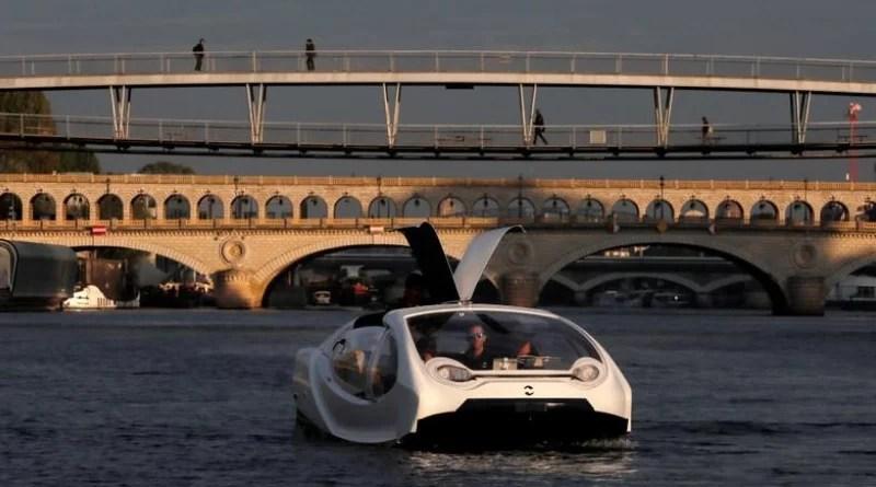 Estamos en el futuro - Conoce el nuevo taxi acuático