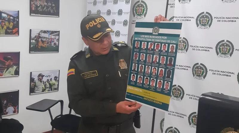 Conozca las 24 personas más buscadas por la Policía Cali