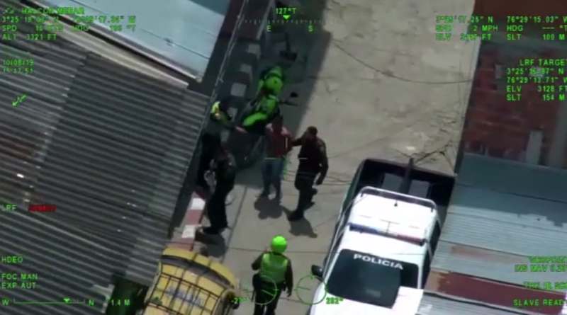 En fuerte operativo Policía Cali captura a hombre que agredió a un ciudadano con un arma