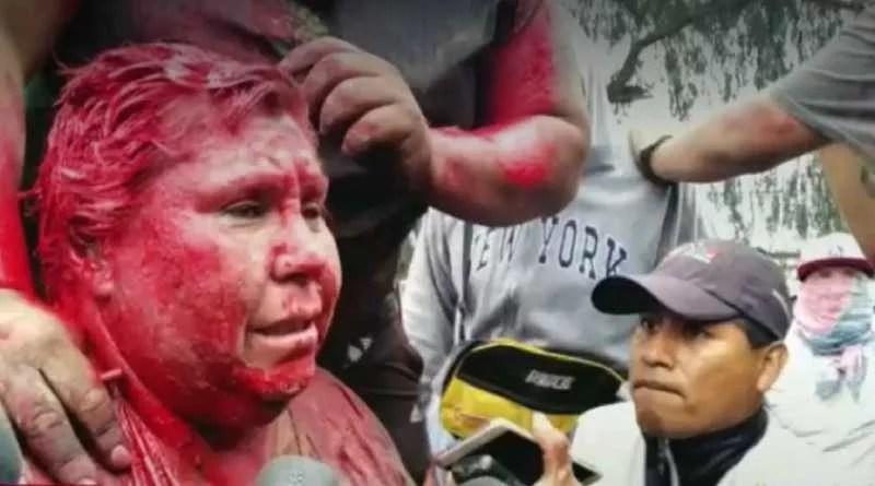 Alcaldesa es humillada en Bolivia