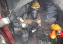 Bomberos Cali rescata 6 personas y un perrito de incendio en Terrón Colorado