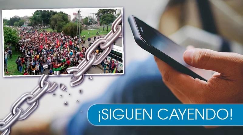 Caleños siguen cayendo en cadenas falsas sobre el paro del 21 de Nov