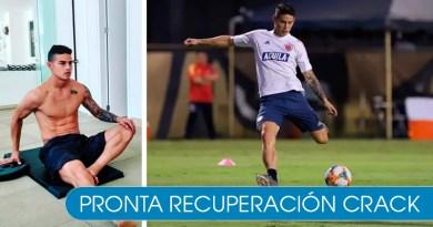 Por lesión James Rodríguez se perdería el próximo partido de la Selección