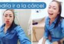 Epa Colombia apareció con un video en el baño en contra de los medios