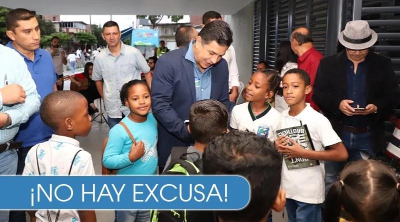 Aún quedan cupos para que niños caleños y venezolanos estudien