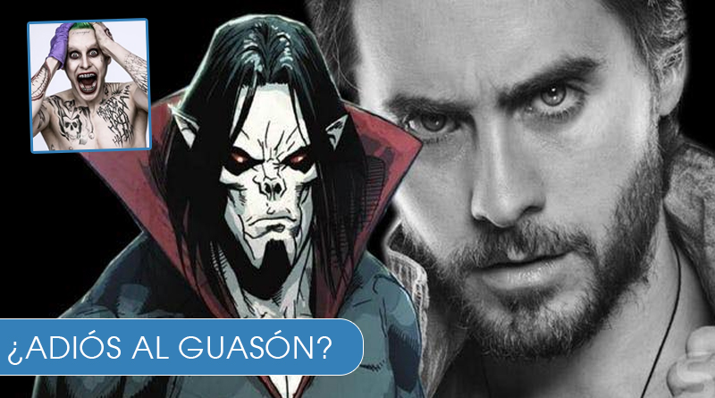 VIDEO... Jared Leto se une a MARVEL, como un vampiro llamado Morbius