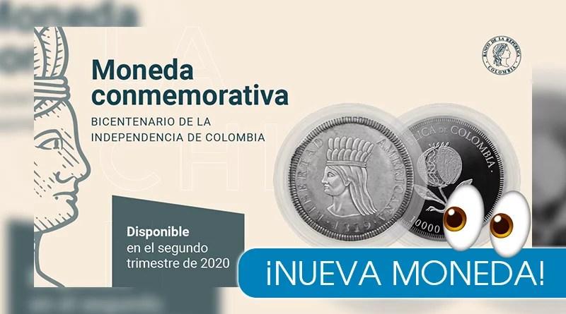 Banco de la República lanzará una nueva moneda conmemorativa