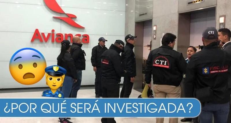 Fiscalía allanó oficinas de Avianca en Bogotá por reportes de corrupción