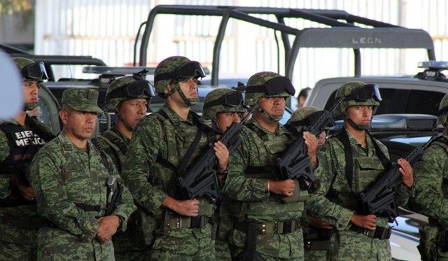 RESPALDA GOBIERNO DE LA CIUDAD DE PUEBLA ARRANQUE DE LA GUARDIA NACIONAL