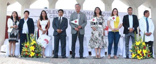 """INICIA COLECTA NACIONAL 2019 """"LA CRUZ ROJA TE LLAMA"""", EN HUEJOTZINGO"""