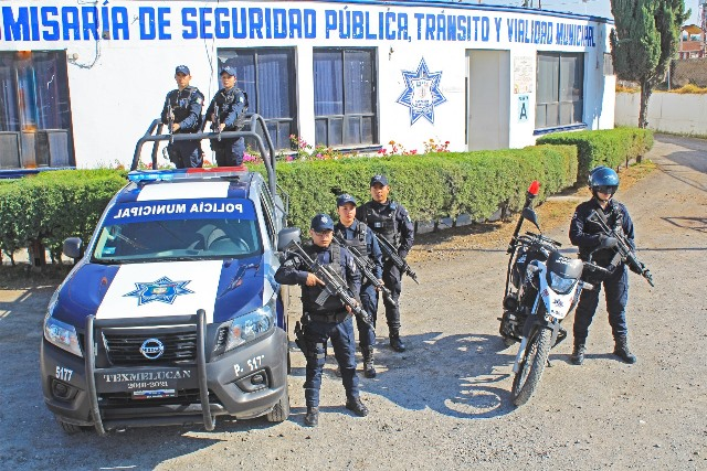 SAN MARTÍN TEXMELUCAN HOMOLOGARÁ SALARIOS A ELEMENTOS OPERATIVOS DE SEGURIDAD PÚBLICA
