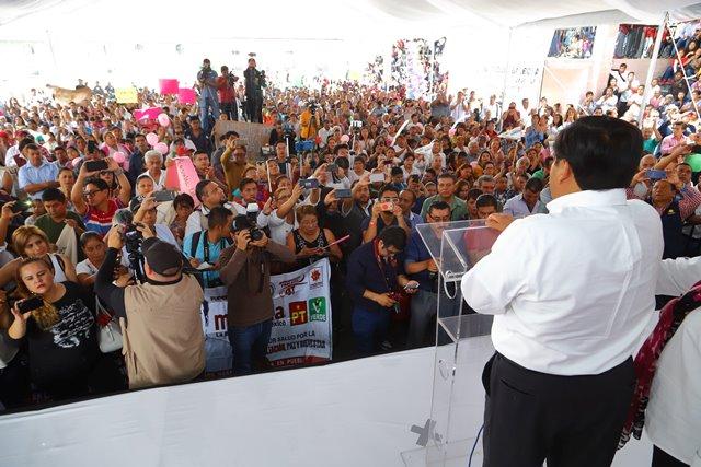 SERÉ UN GOBERNADOR ATENTO A LOS PLANTEAMIENTOS Y DE SOLUCIONES A CADA PROBLEMA: MIGUEL BARBOSA