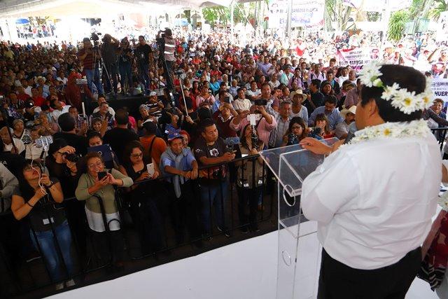 SERÉ EL GOBERNADOR QUE ROMPA LAS FORMAS TRADICIONALES DE HACER POLÍTICA: MIGUEL BARBOSA